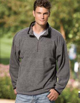 Enza 40879 - Quarter Zip Micro Fleece Pullover