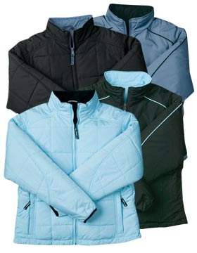 Enza 45179 - Ladies Quilted Reversible Thinsulate™ ...