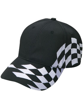 Enza 50779 - Checker Flag Racing Cap