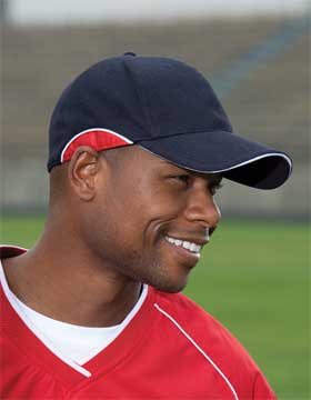 Enza 50979 - Baseball Cap with Contrast Insets