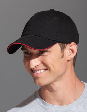 Enza 58679 - Garment Washed Twill Sandwich Cap