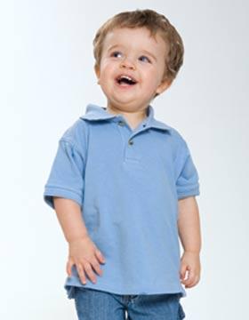 Enza 82579 - Toddler Pique Sport Shirt (Closeout)