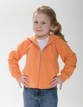 Enza 94179 - Toddler Full Zip Fleece Hoodie