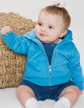 Enza 94279 - Infant Full Zip Fleece Hoodie