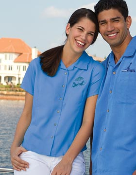 Inner Harbor 3001 - Ladies Fine Bedford Cord Camp Shirt