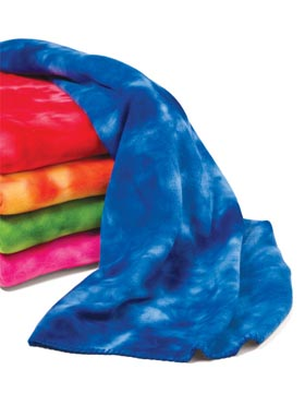 Liberty Bags 8175 - Tie Dye Fleece Blanket
