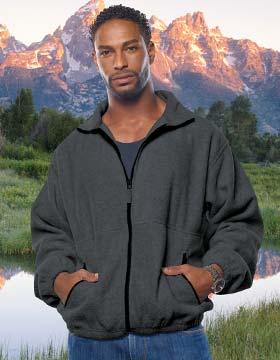Sierra Pacific S3061 全拉链磨毛布外套