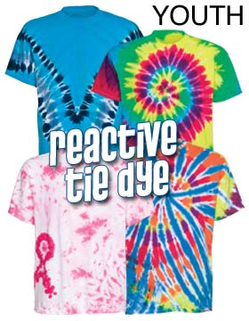 Tie-Dyed 20B - Youth Reactive Dyed T-Shirt