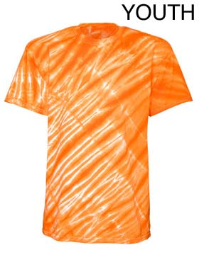 Tie-Dyed 20BTS - Youth Tiger Stripes T-Shirt