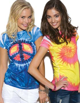 Tie-Dyed 611 - Juniors Sublimation Dyed T-Shirt