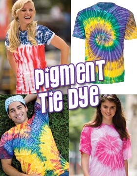 Tie-Dyed 950 - Pigment Dyed Heavyweight T-Shirt