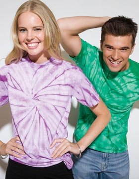 Tie-Dyed 952 - Spider Tie Dye Heavyweight T-Shirt