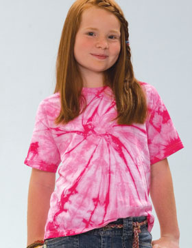 Tie-Dyed 953 - Youth Spider Tie Dye Heavyweight T-Shirt
