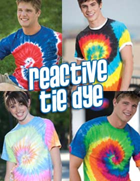 Tie-Dyed 954 - Reactive Dyed Heavyweight T-Shirt