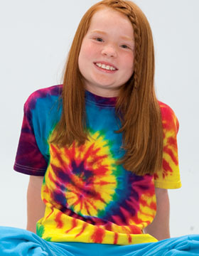 Tie-Dyed 955 - Youth Reactive Dyed Heavyweight T-Shirt