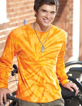 Tie-Dyed 959 - Spider Tie Dye Long Sleeve T-Shirt