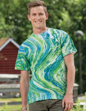 Tie-Dyed 976 - Marble T-Shirt