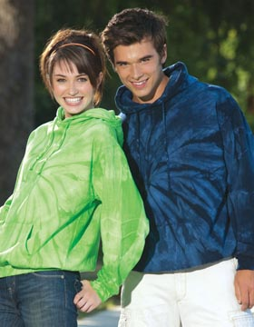 Tie-Dyed 977 - Fleece Pullover