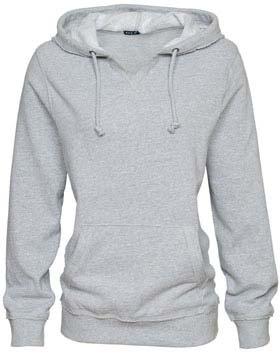 Enza 39579 - Ladies V-Notch Fleece Hoodie