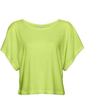 Enza 03979 - Ladies Short Sleeve Cropped Tee