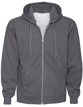 Enza 35679 - Enzyme Washed Full Zip Fleece Hood (Closeout)