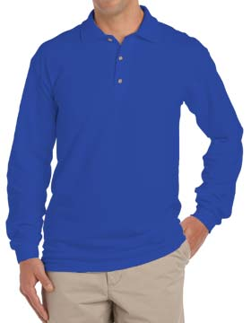 Inner Harbor 7015 - Mainsail Long Sleeve Pique Polo