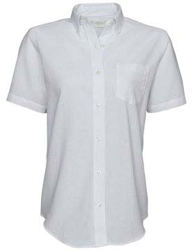 Van Heusen 13V0003 - Ladies Oxford Short Sleeve Shirt