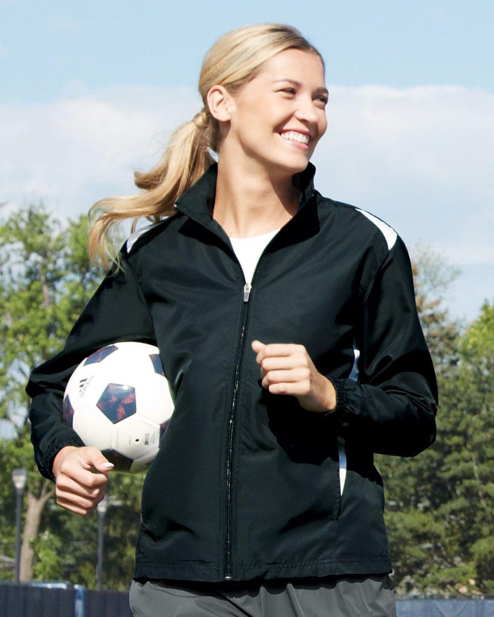 Augusta Sportswear Ladies' Premier Diamond Tech Jacket - 3710