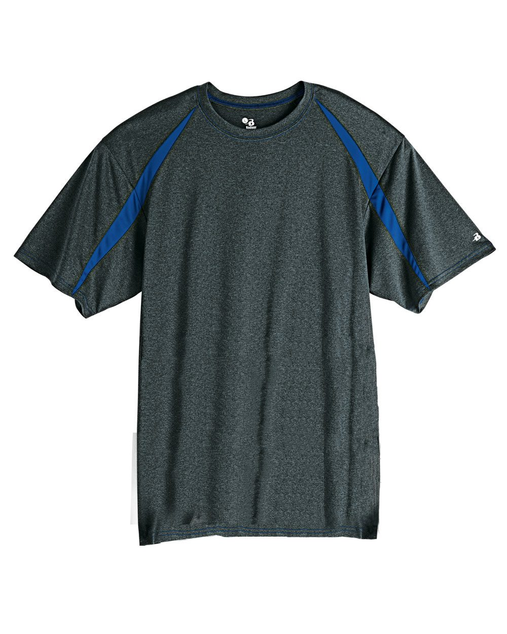 Badger Sport Fusion Colorblock Short Sleeve T-Shirt ...