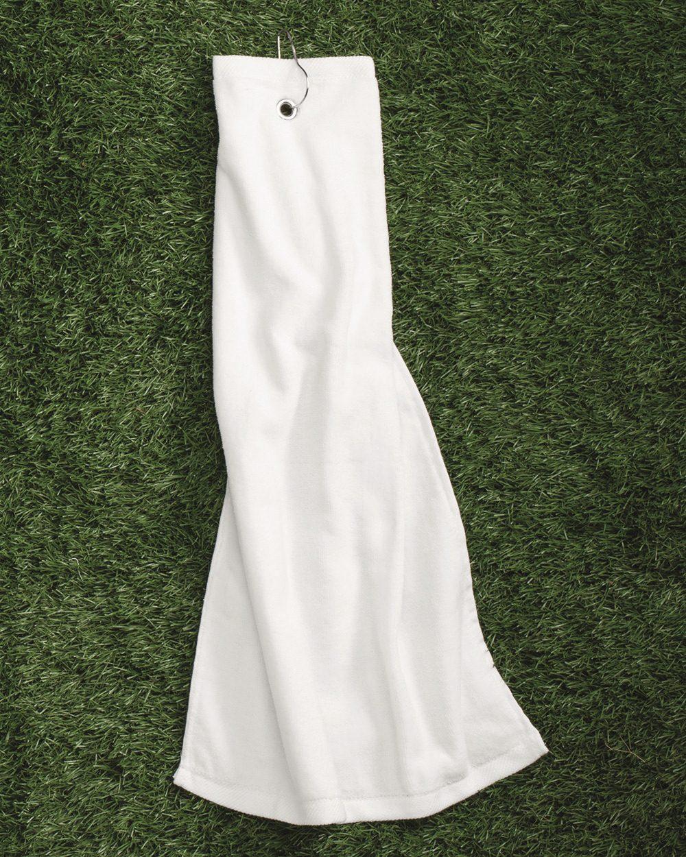 Carmel Towel Company Tri-Fold Hemmed Towel - C1624TGH