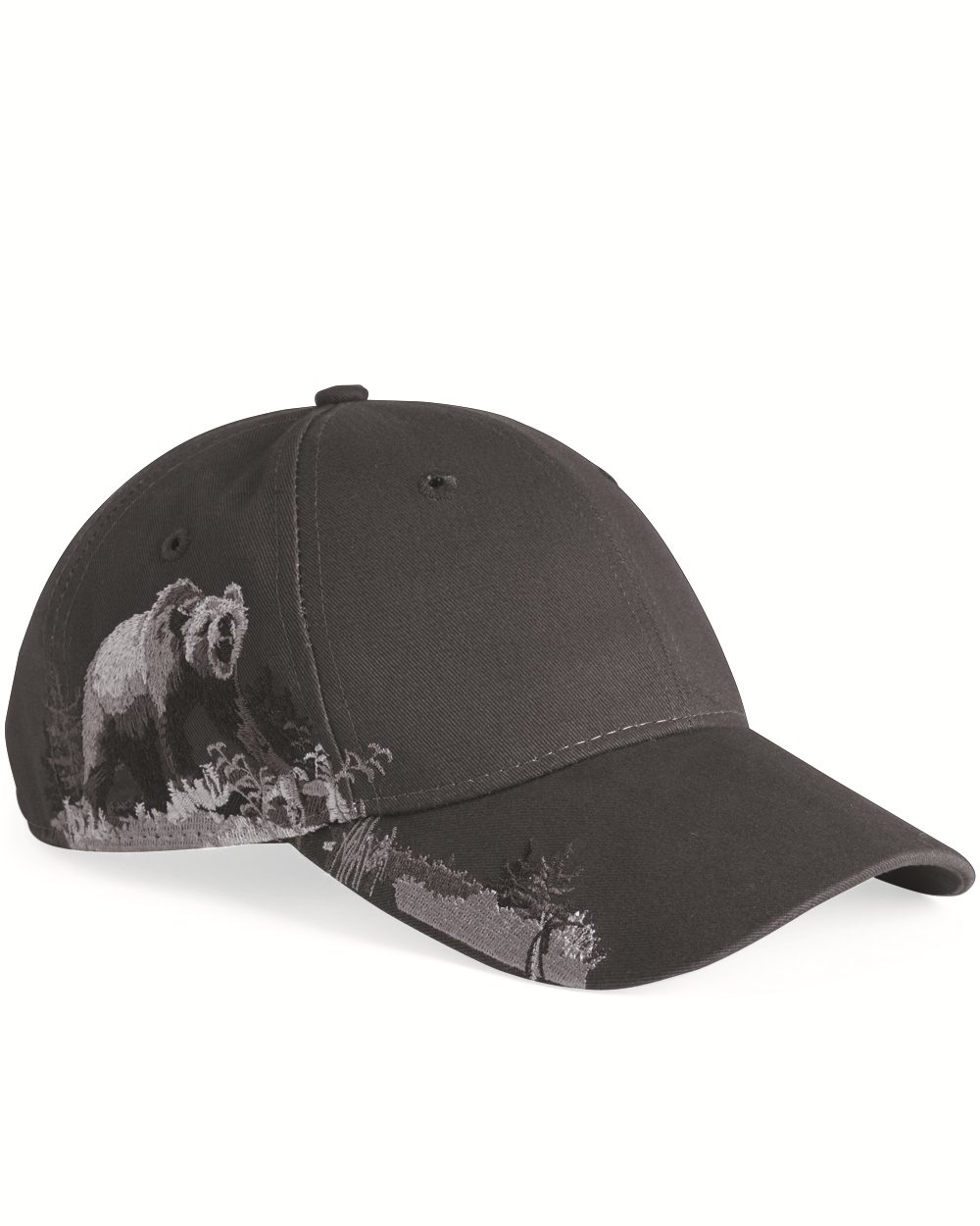 DRI DUCK Grizzly Bear Brushed Twill Cap - 3319