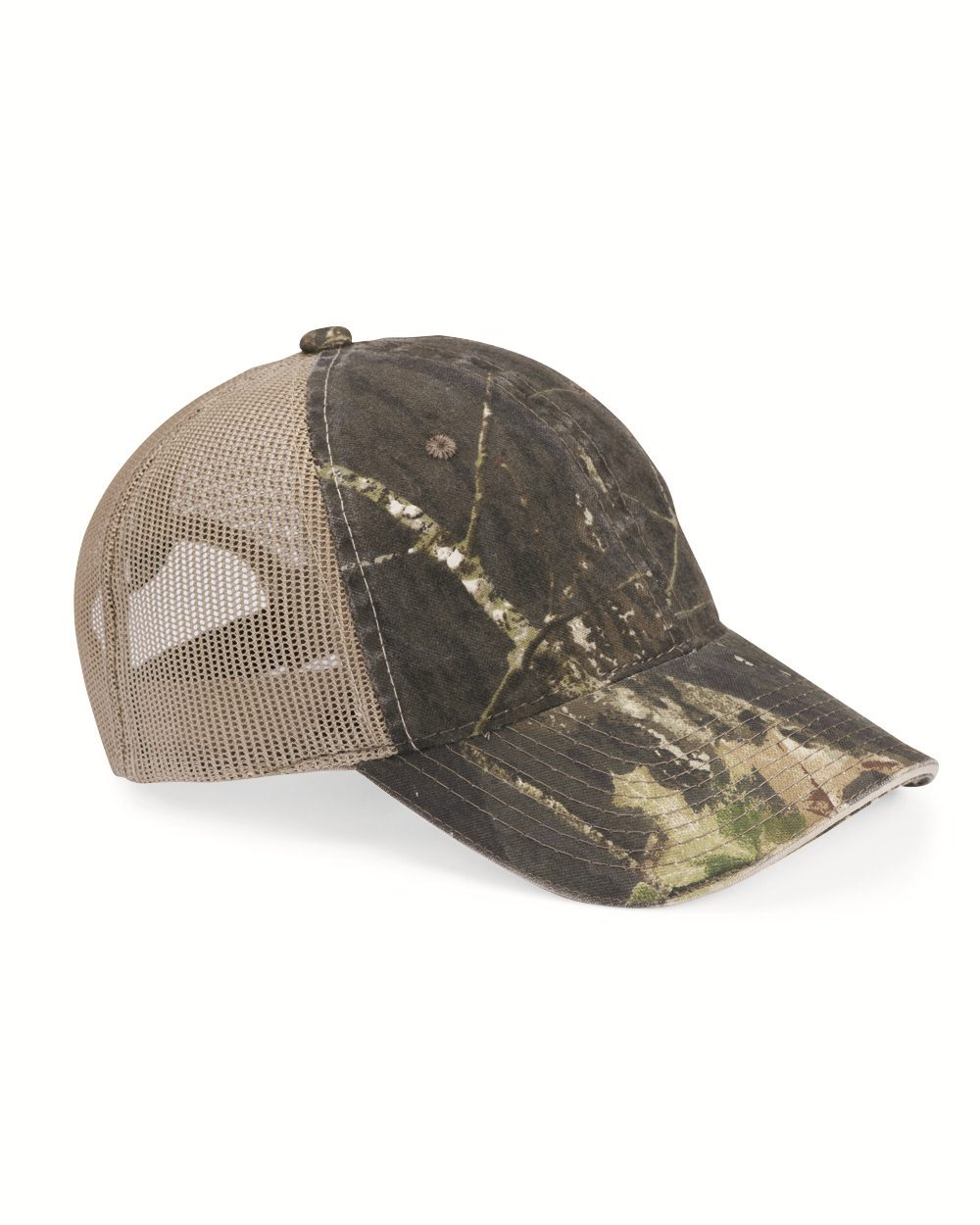 Outdoor Cap Washed Brushed Mesh Cap - CGWM301