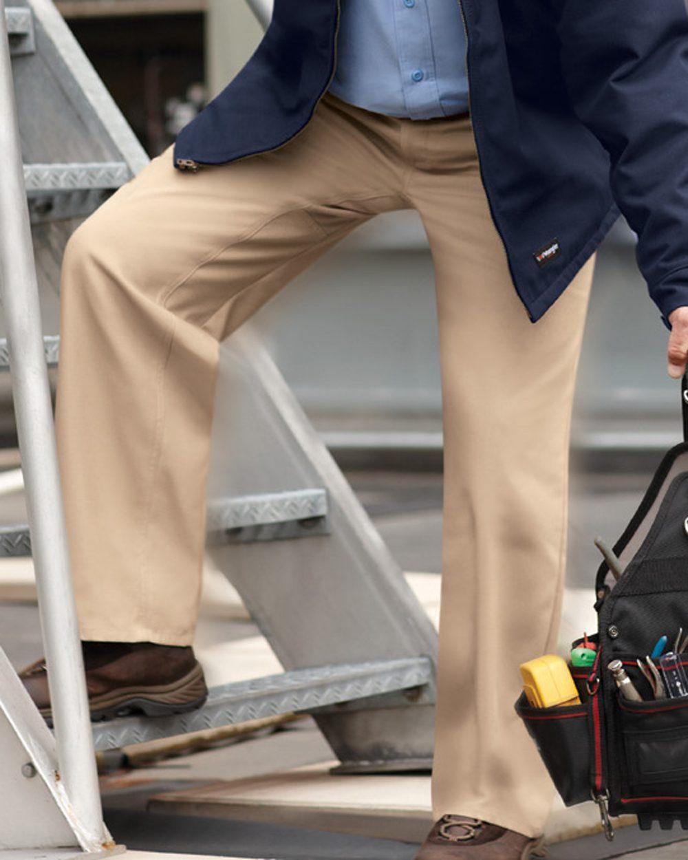 Wrangler Plain Front Work Pants - WP70