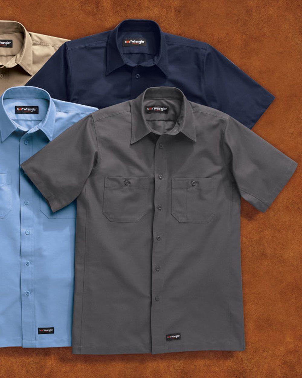 Wrangler Short Sleeve Work Shirt - WS20