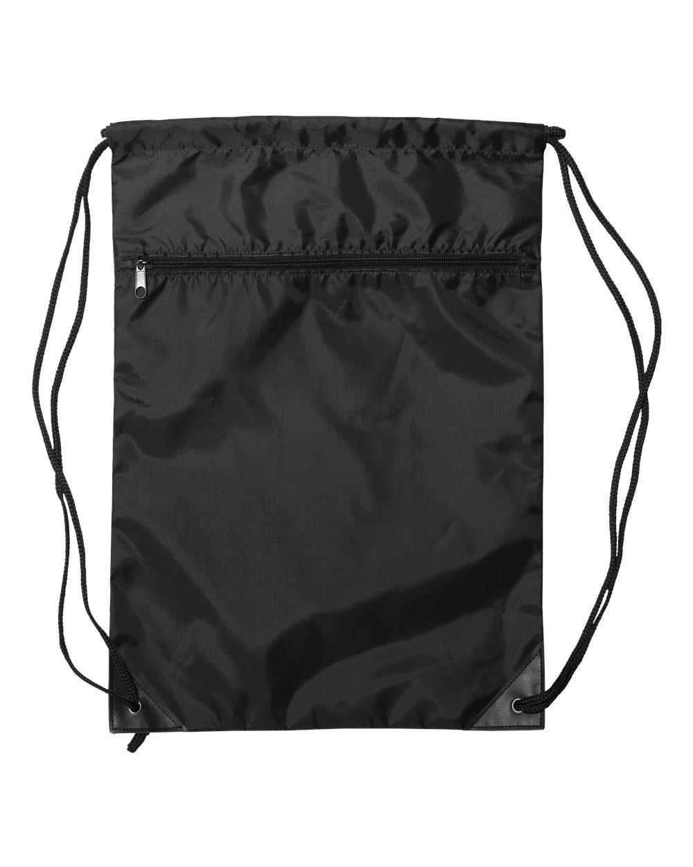Liberty Bags 8888 - Denier Nylon Zippered Drawstring Backpack
