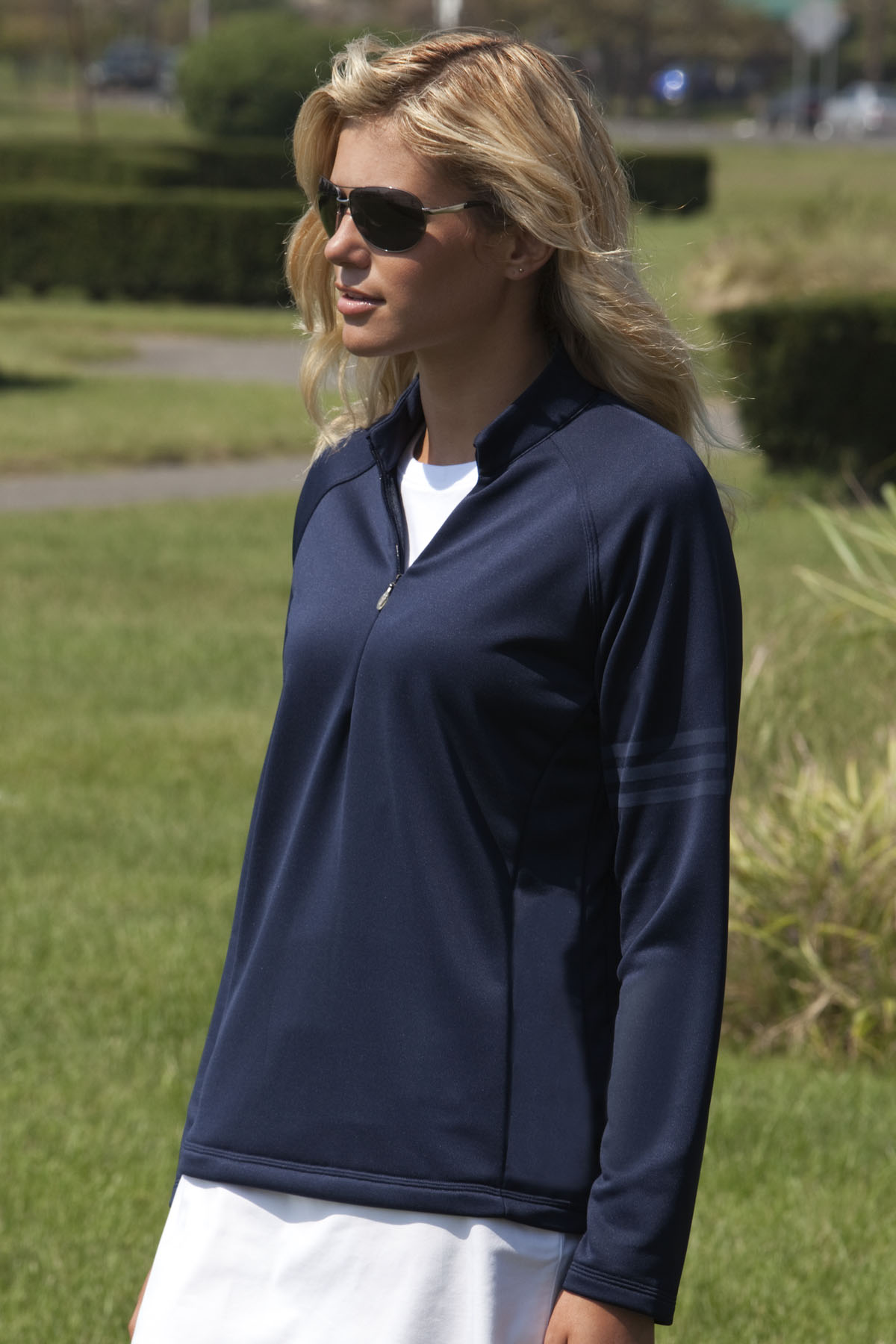 adidas ADIDA175 - Women's Performance Quarter Zip Training ...