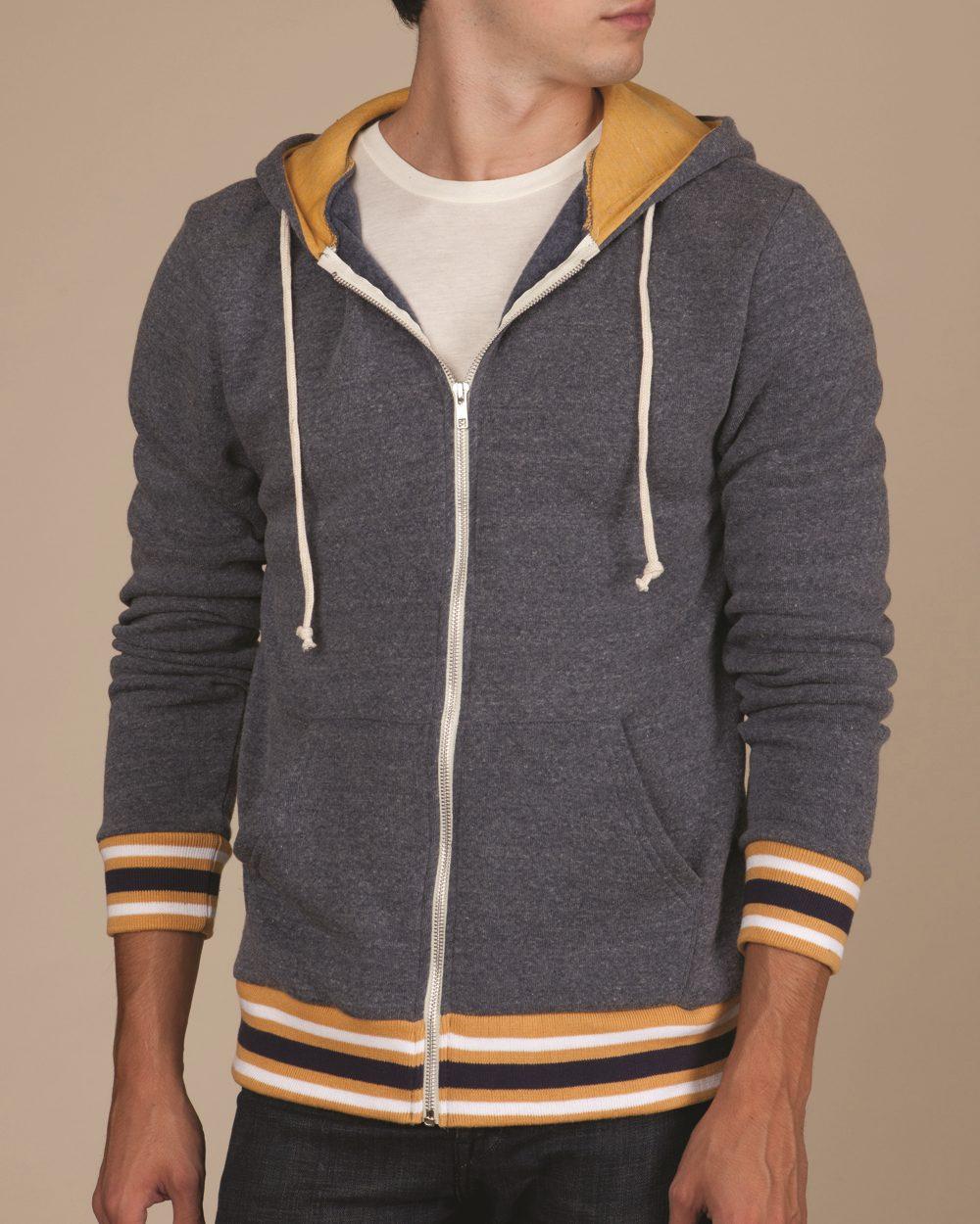 Alternative Eco-Fleece Woody Full-Zip Hooded Sweatshirt ...