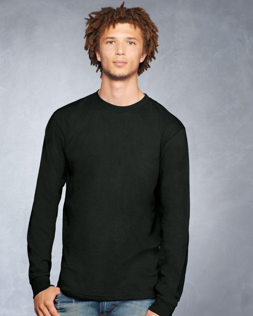 Anvil Midweight Long Sleeve T Shirt 784