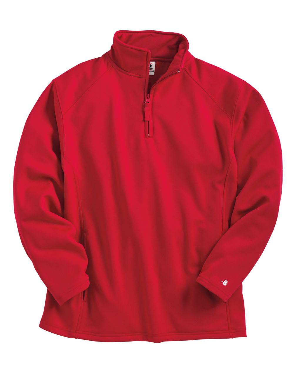 Badger Polyester Fleece Quarter-Zip Pullover - 1480