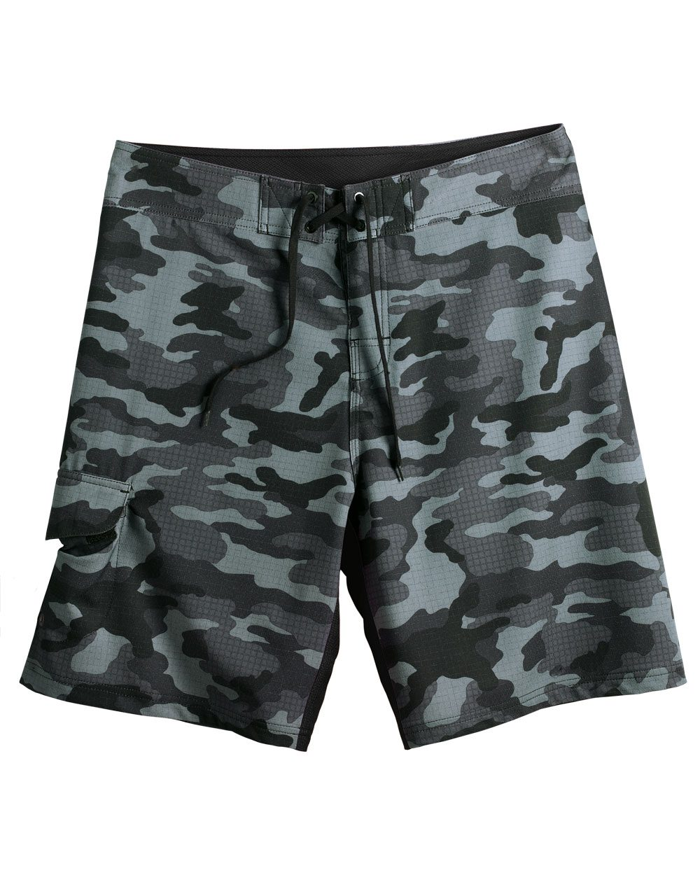 Burnside Camo-Diamond Dobby Board Shorts - B9371