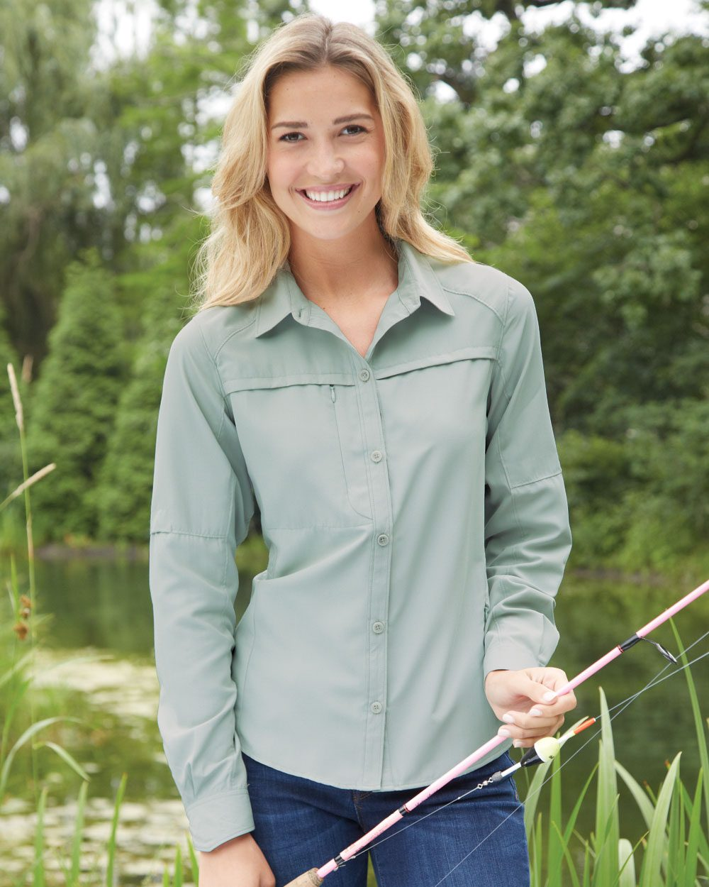 DRI DUCK Ladies' Fishing Shirt - 8407