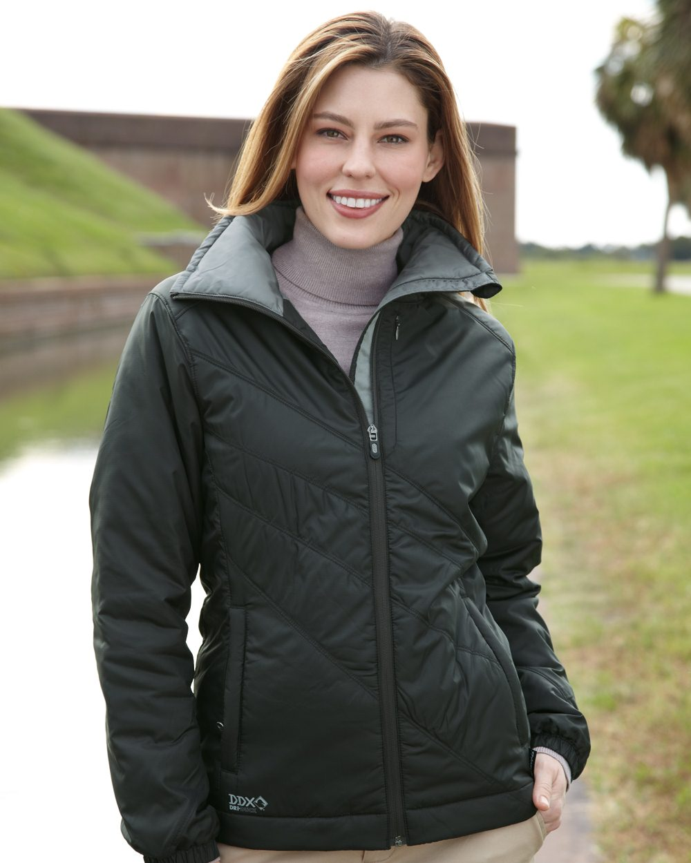 DRI DUCK 9413 - Solstice Ladies' Thinsulate Lined Puffer ...