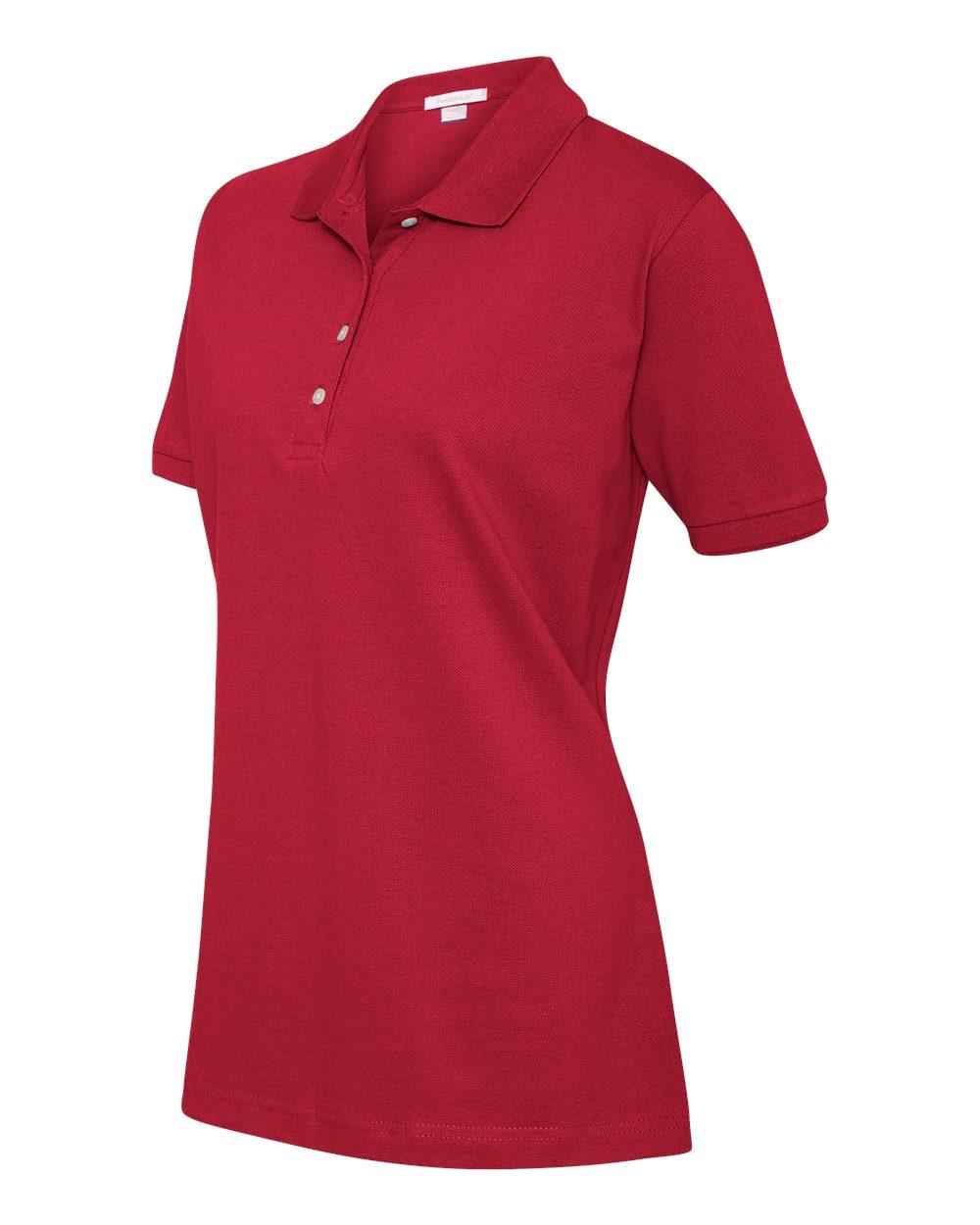 FeatherLite Ladies' 100% Cotton Pique Sport Shirt - 2400