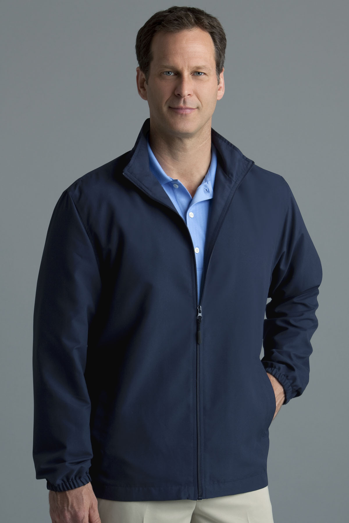 Greg Norman GNS0J500 - Full-Zip Windbreaker