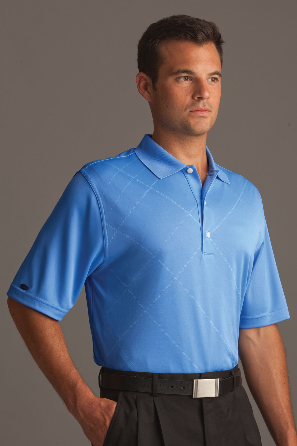 Greg Norman GNS1K403 - Play Dry® Tonal Bias Plaid ...