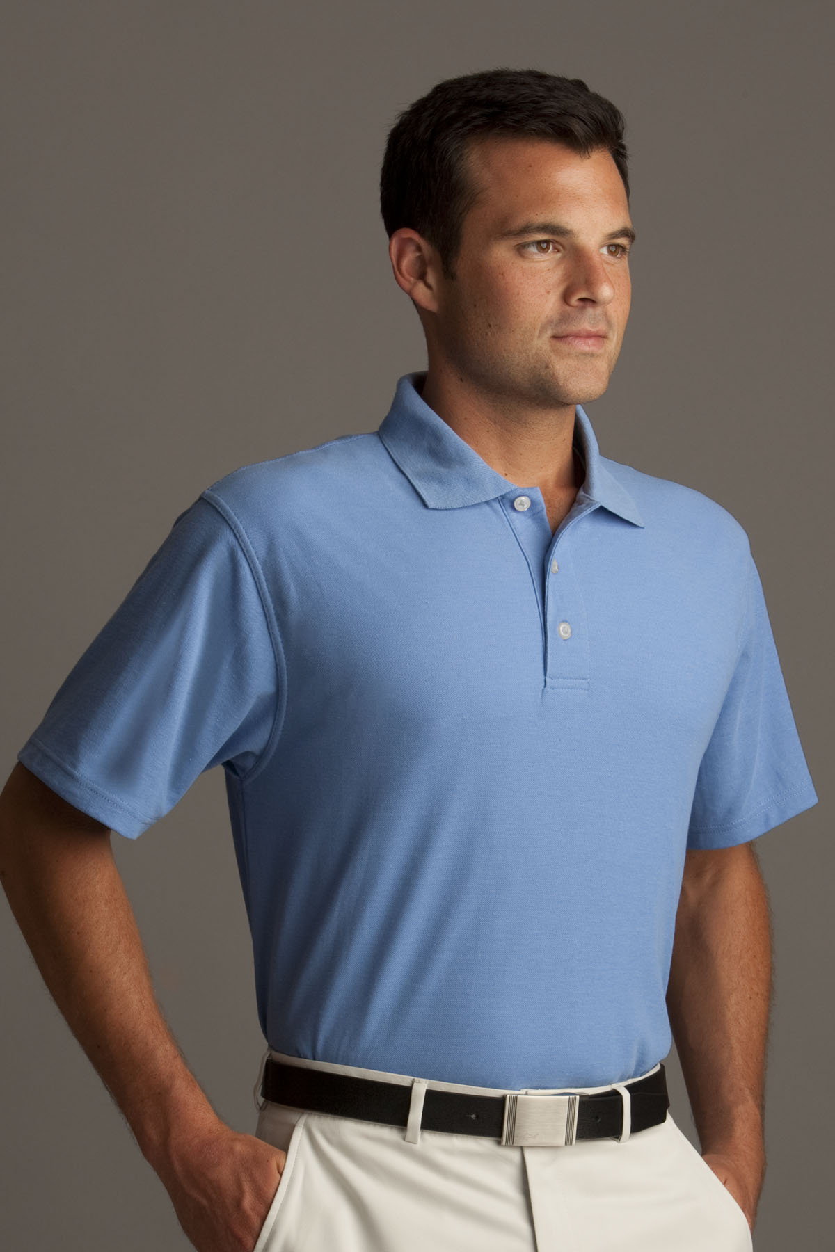 Greg Norman GNS2K300 - Easy-Care Pique Polo