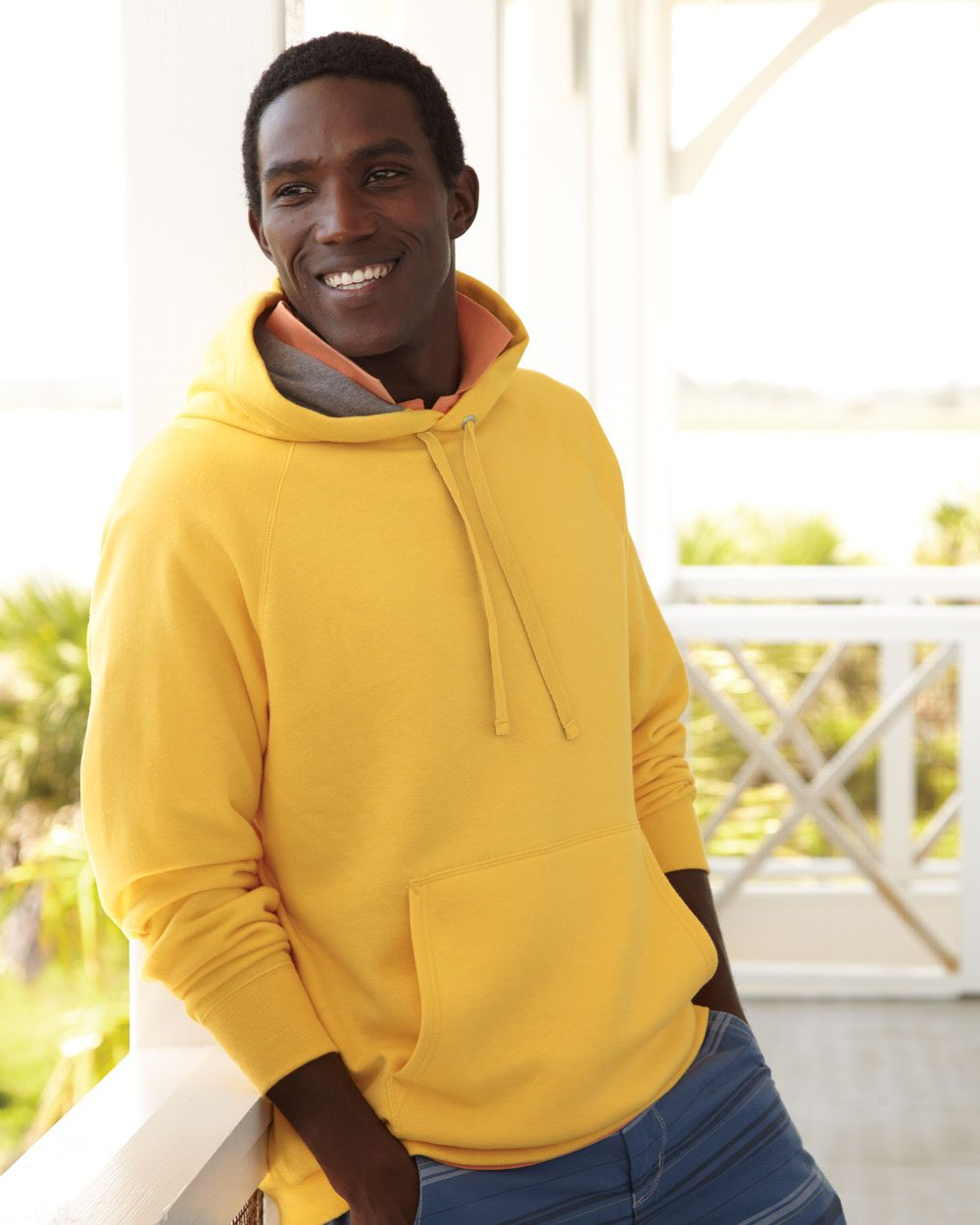 Hanes Nano Fleece Hooded Pullover Sweatshirt - N270