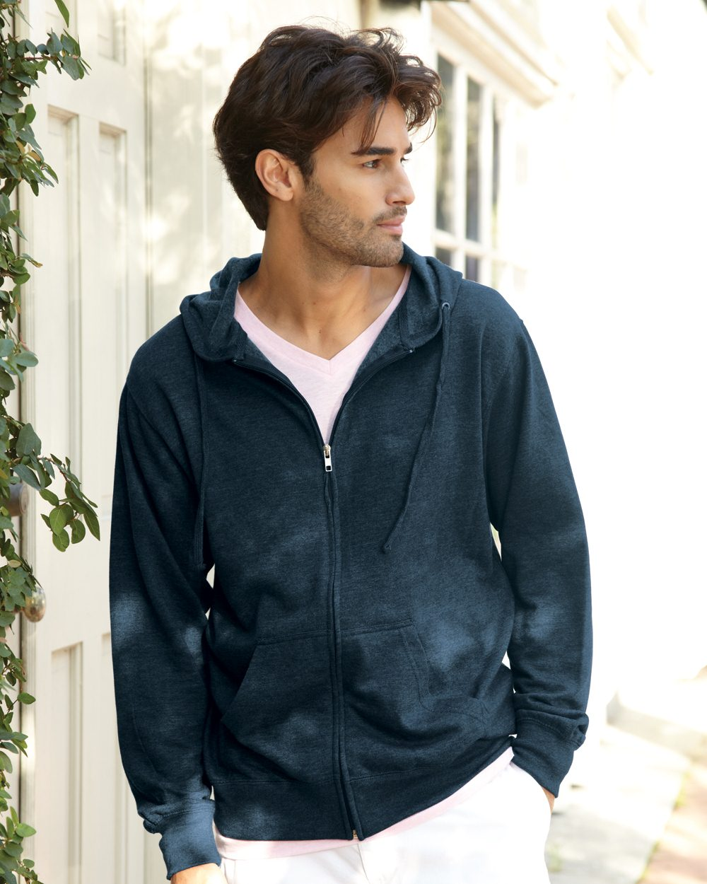 Independent Trading Co. Heavenly Fleece Full-Zip Hooded ...