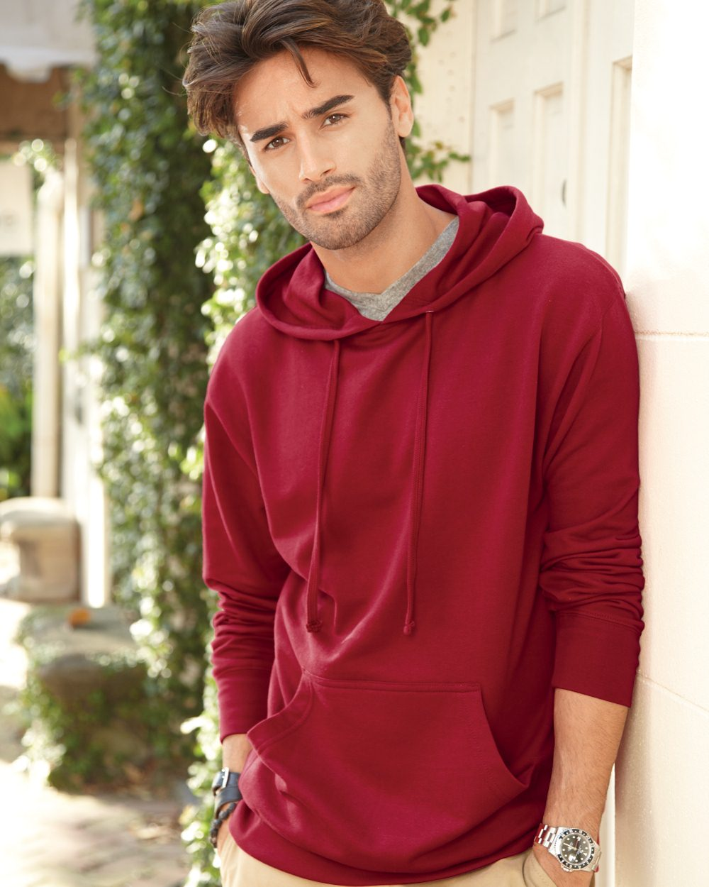 Independent Trading Co. Heavenly Fleece Hooded Pullover ...