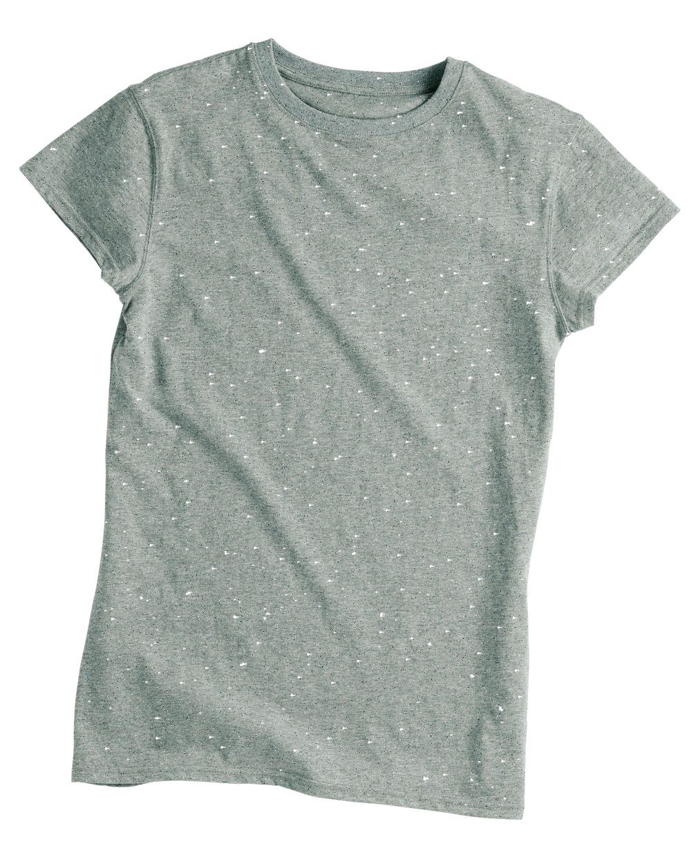 J. America Ladies' Glitter T-Shirt - 8138